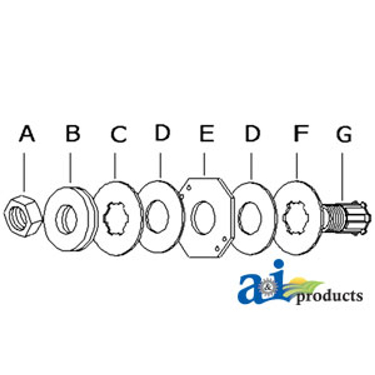 Ford New Holland Clutch Slip Part No A-7500438