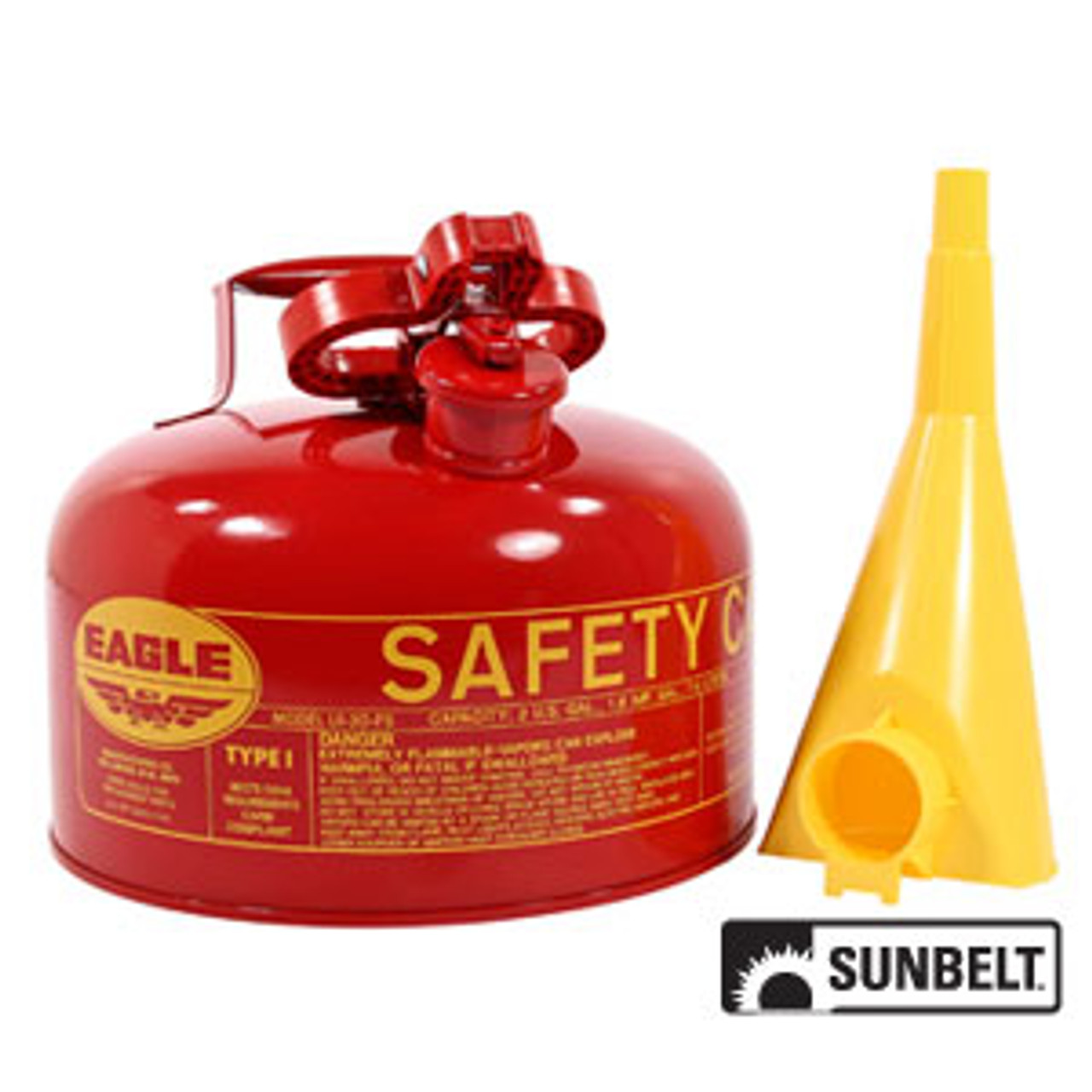 Safety Gas Can >> Fuel Can Eagle Type I Safety Cans 2 Gallon A B1sc3