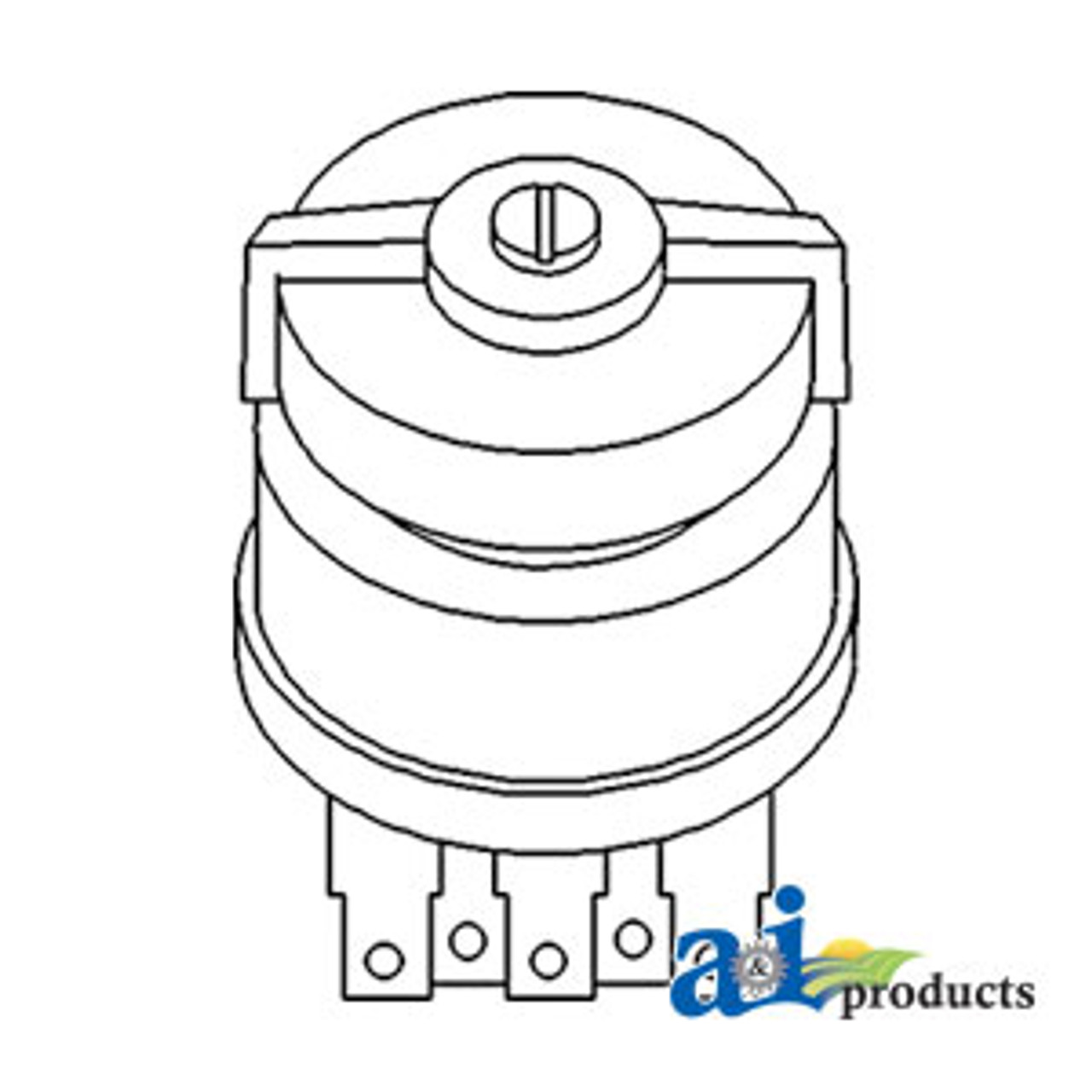 Light Switch (Rotary) A-107200C2 on