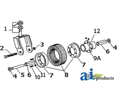 Wheel Kit, Tail (1-1/2