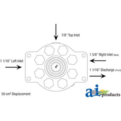 A-70114610-Pump, Hydraulic A-70114610