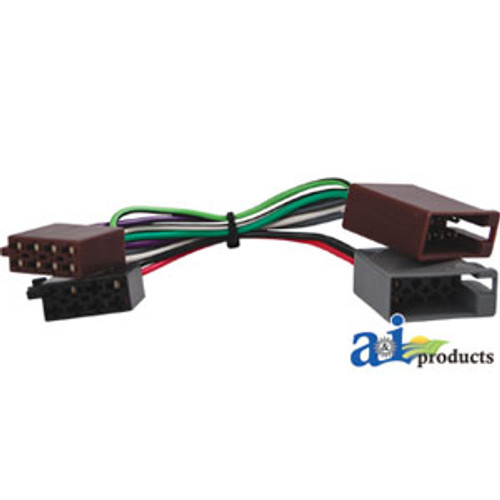 Adapter, Radio (ISO) A-RA1 on john deere 317 wiring diagram, john deere 6420 wiring diagram, john deere 4430 wiring diagram, john deere 6320 wiring diagram, john deere 4300 wiring diagram, john deere 4100 wiring diagram, john deere 5525 wiring diagram, john deere 2130 wiring diagram, john deere 3020 wiring diagram, john deere 6400 wiring diagram,
