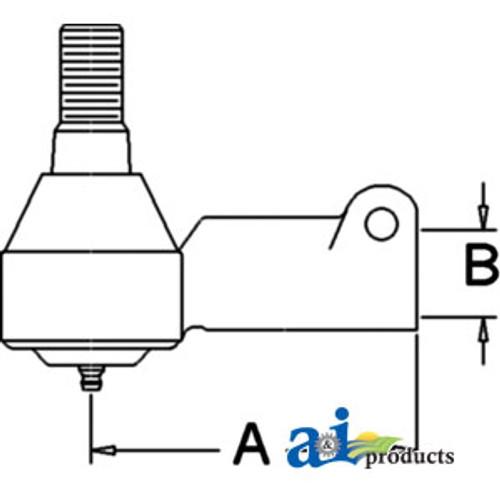 A-B1GH50-Ball Bearing, Pillow Block A-B1GH50