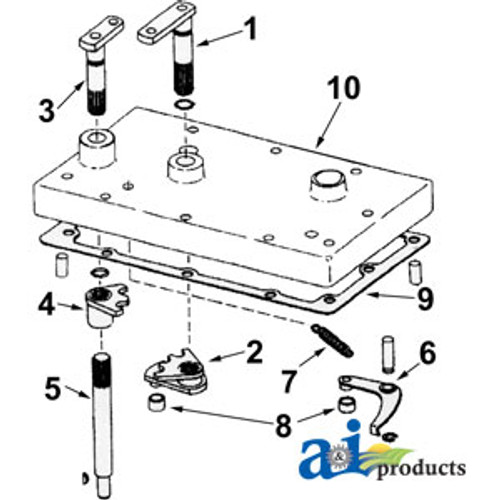 A-A47038-Seal Kit, Hydrostatic Steering Hand Pump A-A47038