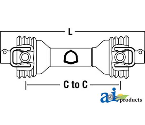 CS53414 Rotary Cutter Bondioli Pavesi 100 Series Size 5 PTO Driveline 14006542