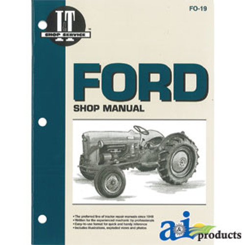 A-SMFO42-Ford New Holland Shop Manual A-SMFO42Tired Iron Tractor Parts