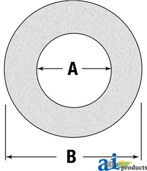 A-W39301-Friction Disc/Clutch Lining, 6 5