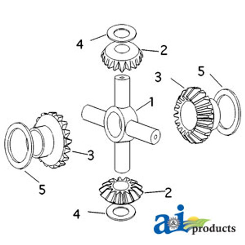 A-B127423-GASKET-AIR CLEANER A-B127423