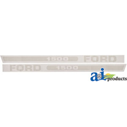 Ford 1200 tractor hood decal set F1200VC
