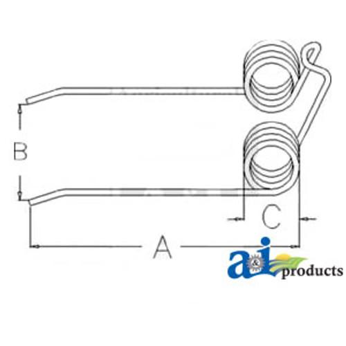 A-90095862-Rake Wheel Complete, (LH) A-90095862