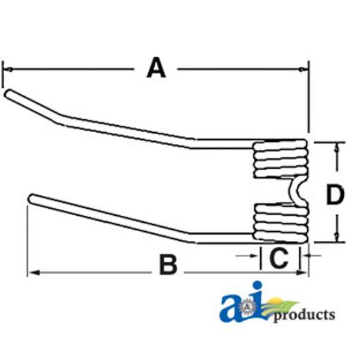 A-GT46S-Tedder Tooth A-GT46S