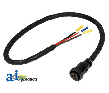 Auxiliary Power Connector Kit, 3 Pin A-RE37651