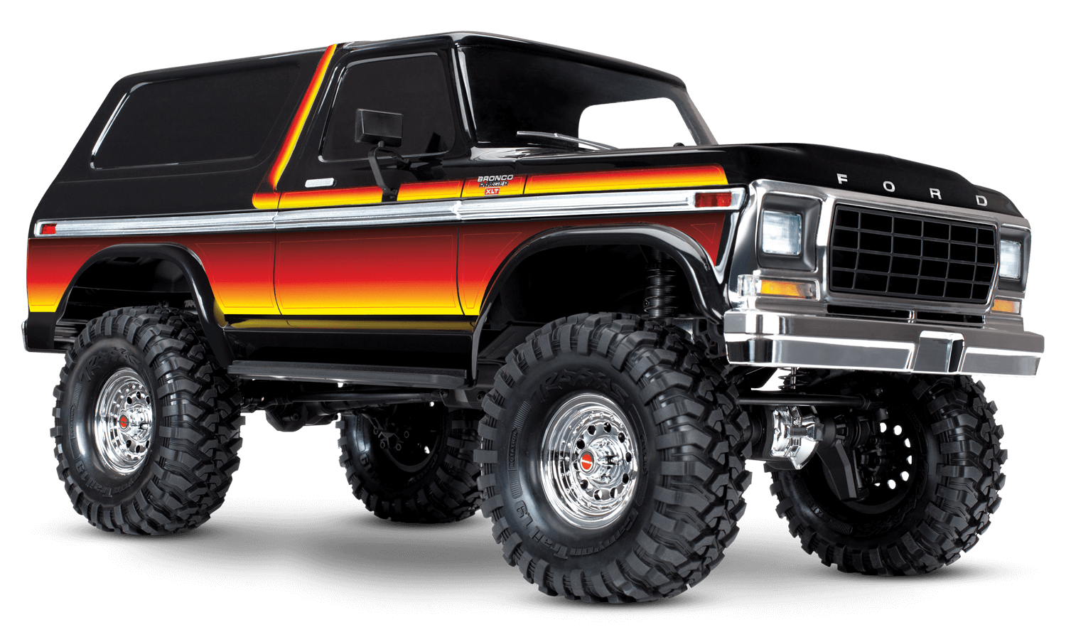 Trx 4 Scale And Trail Crawler With Ford Bronco Body Underground Rc Raceway Hobbies