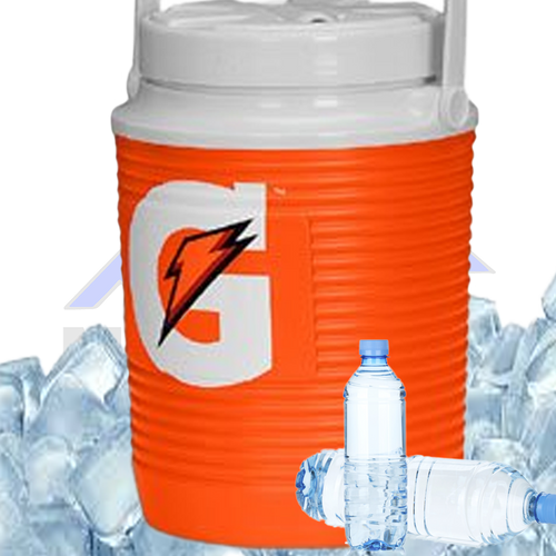 WATER | ICE | GATORADE