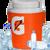 WATER | ICE | GATORADE