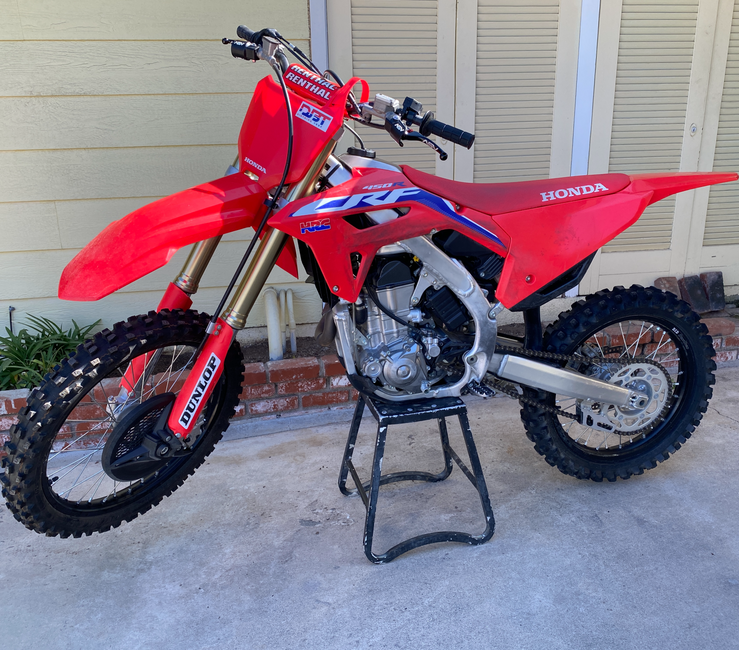 New Lever Fitment! -- 2021 Honda CRF450R & CRF450RX