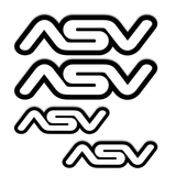 ASV Logo Sticker Decal Pack