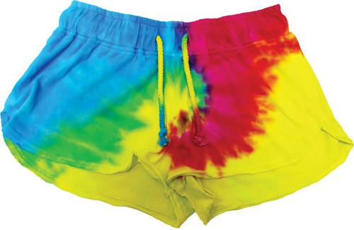 Color in image: Rainbow Swirl