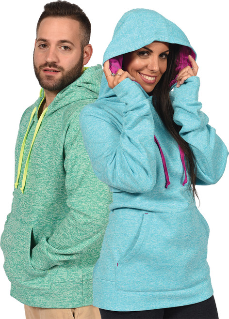 "2-Tone ""Soft Static"" Unisex Pullover Hoodie (4033)"