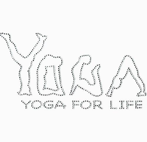 Yoga For Life Iron-On