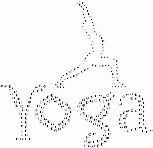 Yoga Fun Design Iron-On
