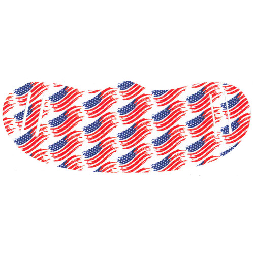 USA-Flag Sublimated No-Sew Face Mask (MASK5USA).