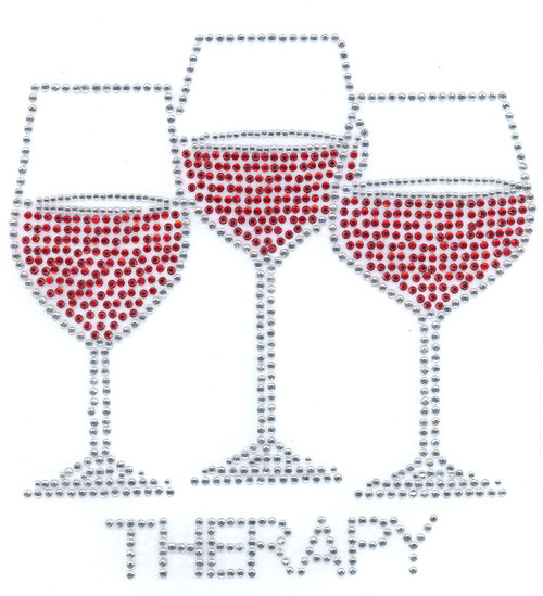 """""""Therapy"""" Iron-On Design (S4488)"""