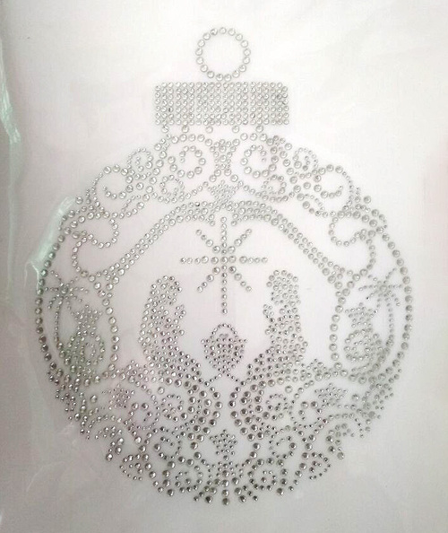 Nativity Ornament Iron-On Design (S101755-CLR-8).