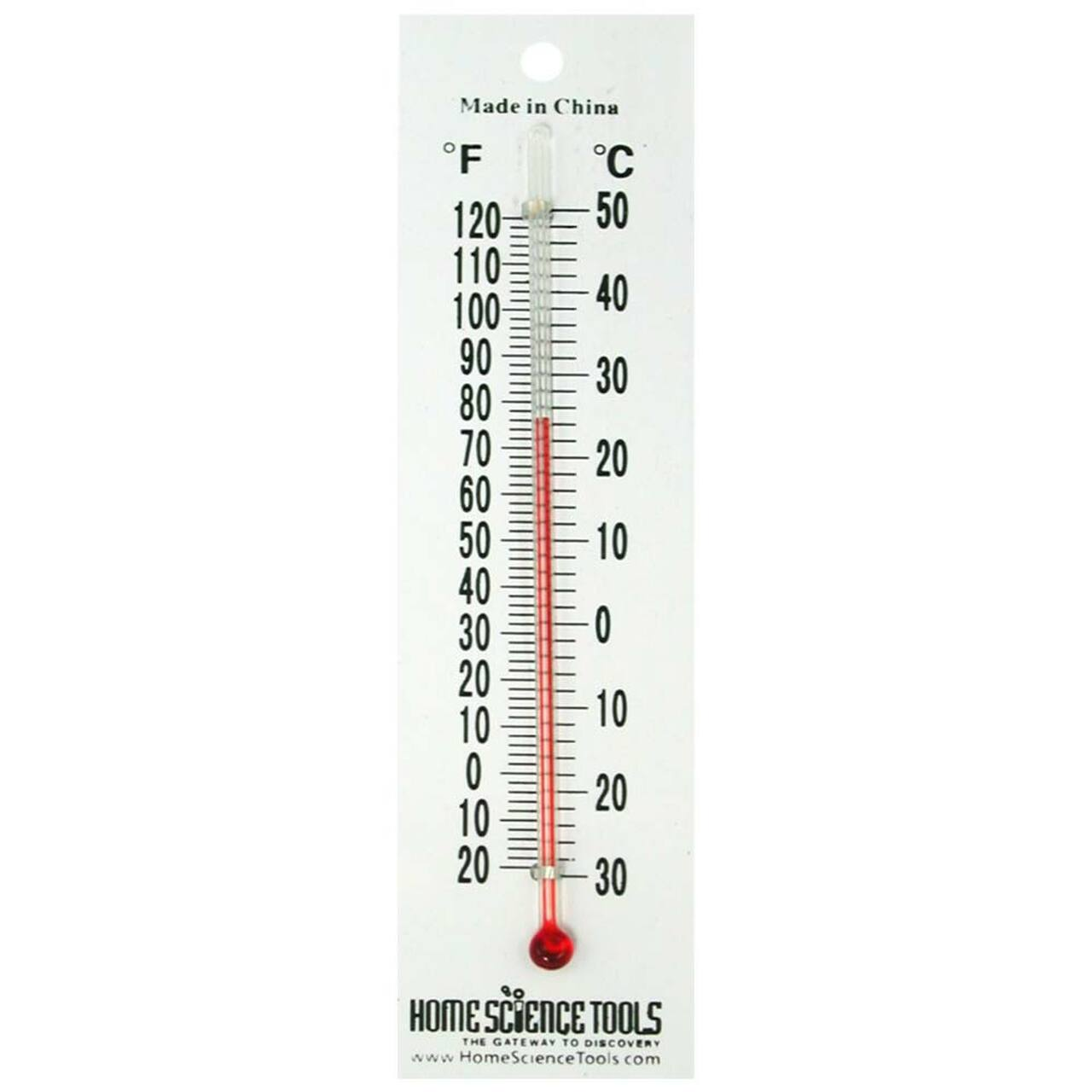 plastic thermometer for student labs | home science tools  home science tools
