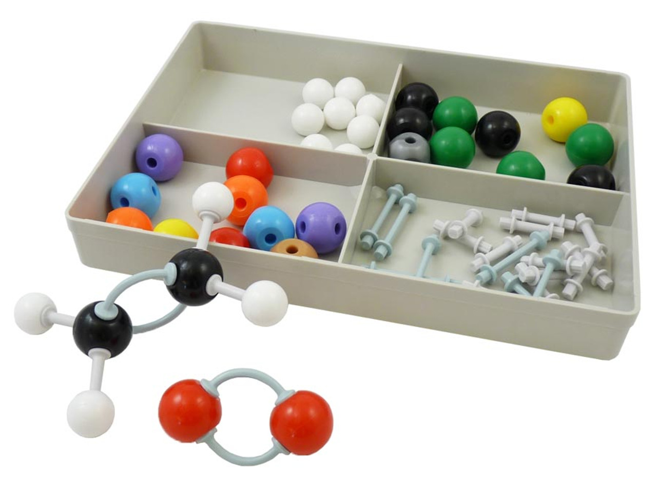 333 Pieces Molecular Model Kit ,Farway Chemistry Structure Molecular Model Set Educational Teaching Tool for Schools Molecule Model Set Inorganic Chemistry Instructional Guide