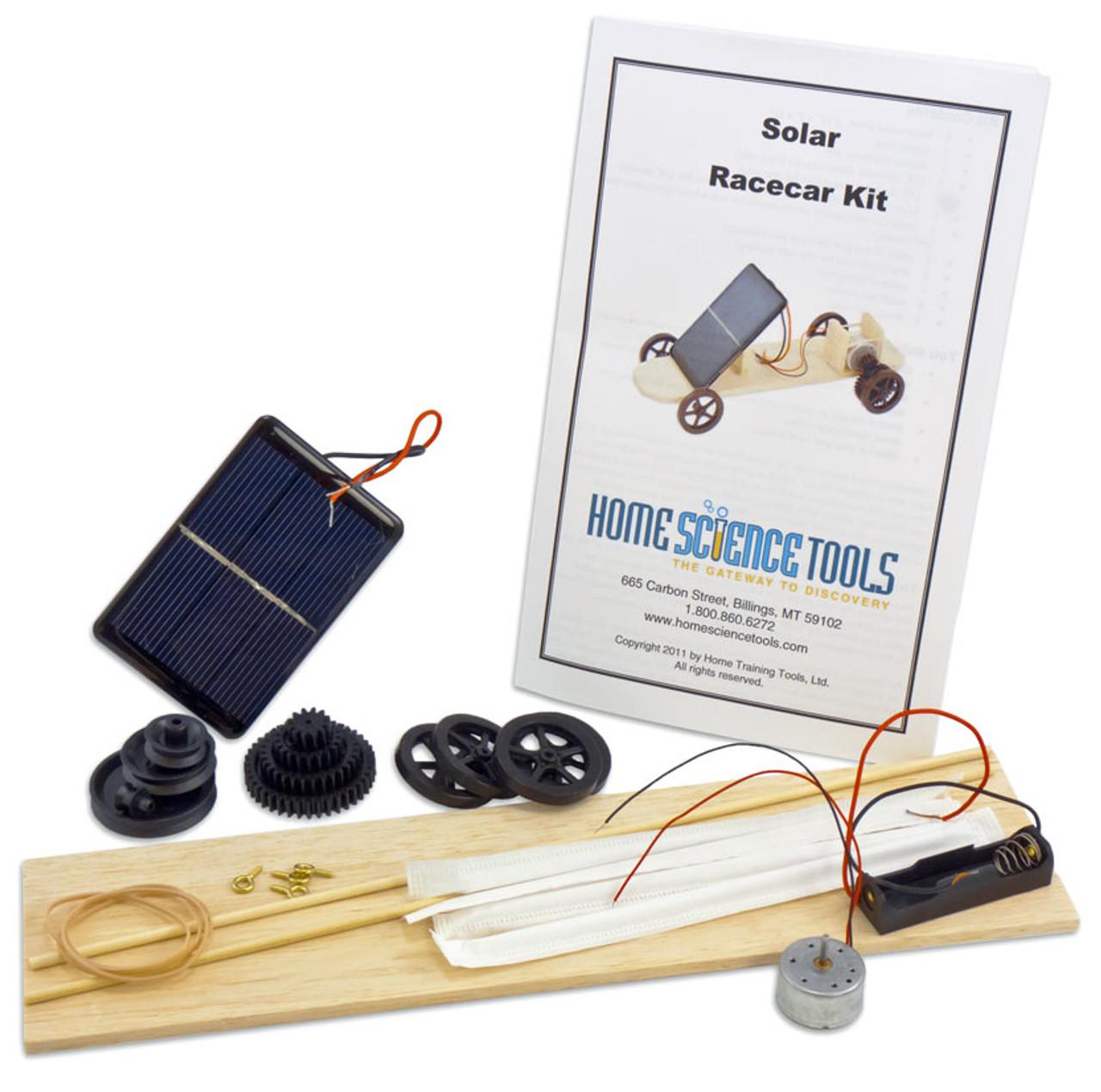 Solar Race Car Experiment Kit Diy Kit