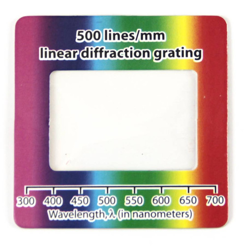 Diffraction Grating, 500 lines/mm