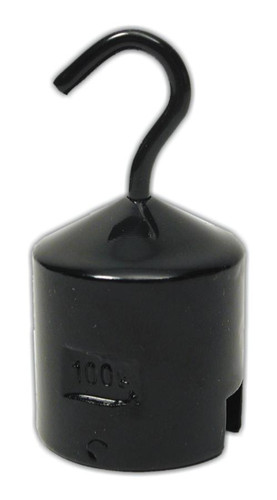 Weight, 100 g, with hook