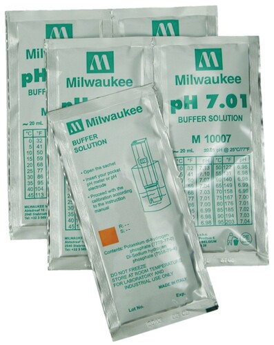 pH 7.0 Calibration Solution, 5 packets