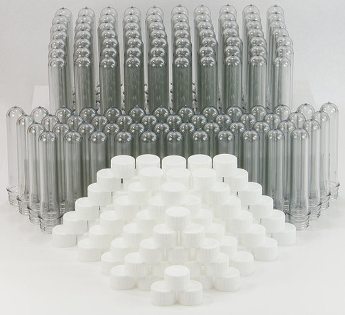 Giant Test Tubes (Baby Soda Bottles), 120 pack