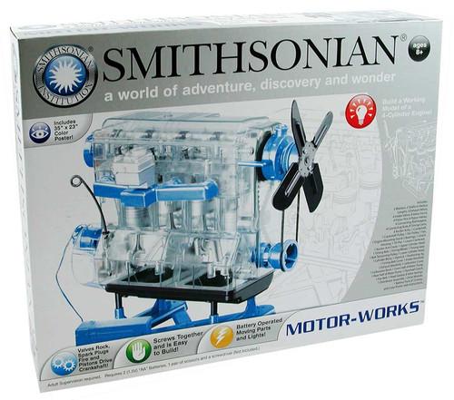 smithsonian motorworks engine kit box