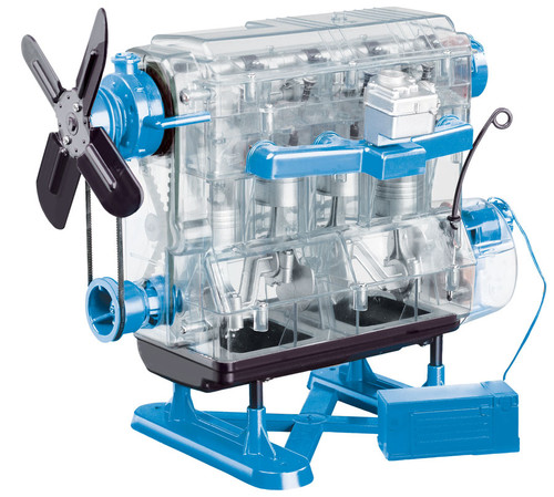 assembled smithsonian motorworks engine kit