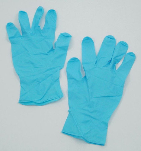 Gloves, Nitrile, Size Medium, 50 Pairs