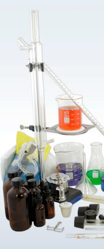 Deluxe Chemistry Glassware & Labware Set