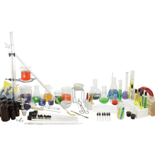 chemistry glassware set
