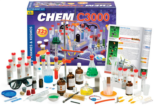 thames and kosmos chem c3000 kit and components