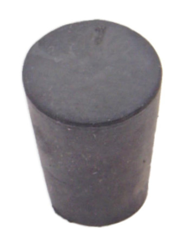 Rubber Stopper, #1, solid