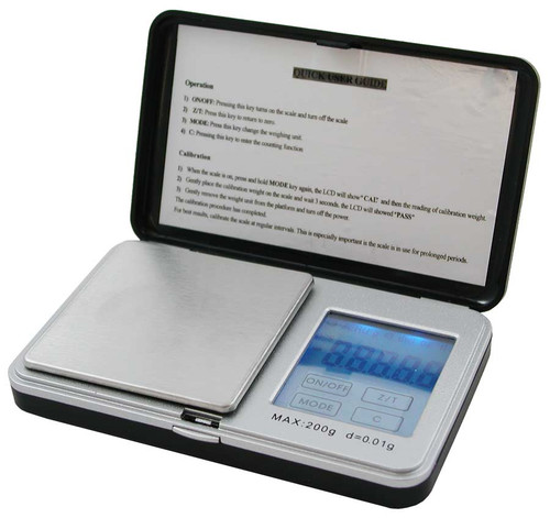 Digital Pocket Scale, 200 g x 0.01 g