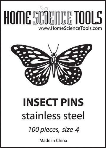 Insect Pins, size 4, student