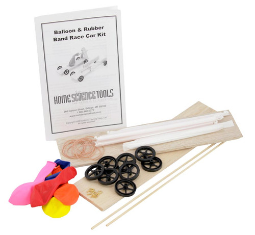 Rubber Band Car Kit