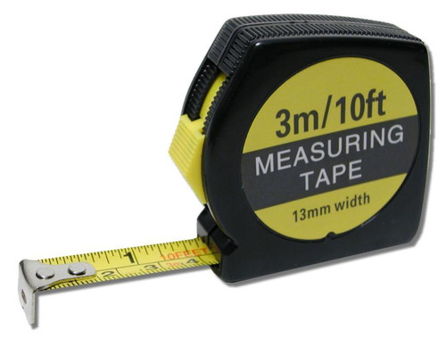 Tape Measure, Steel, 3 meters