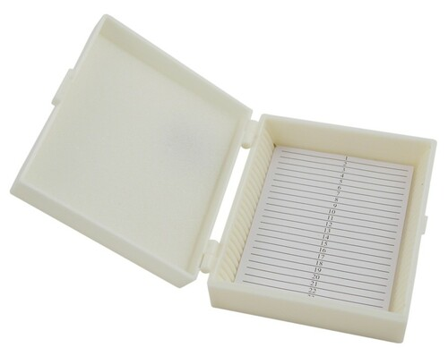 microscope kit slide storage box