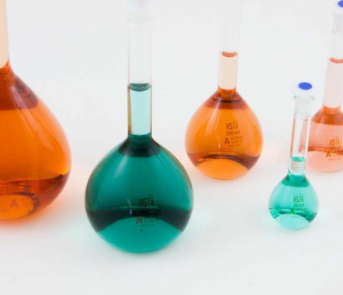 Volumetric Flasks, Set of 5