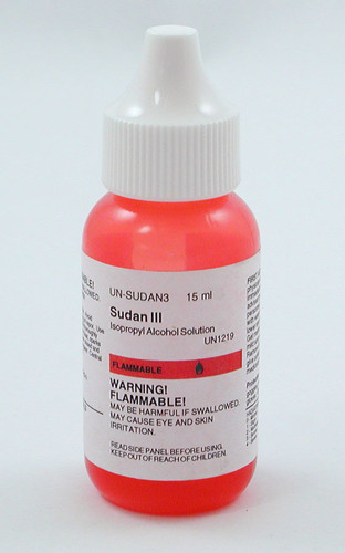Sudan III Stain, solution, 15 ml
