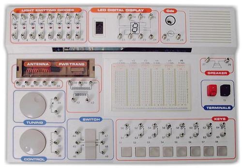 electronics project kit multi-voltage breadboard